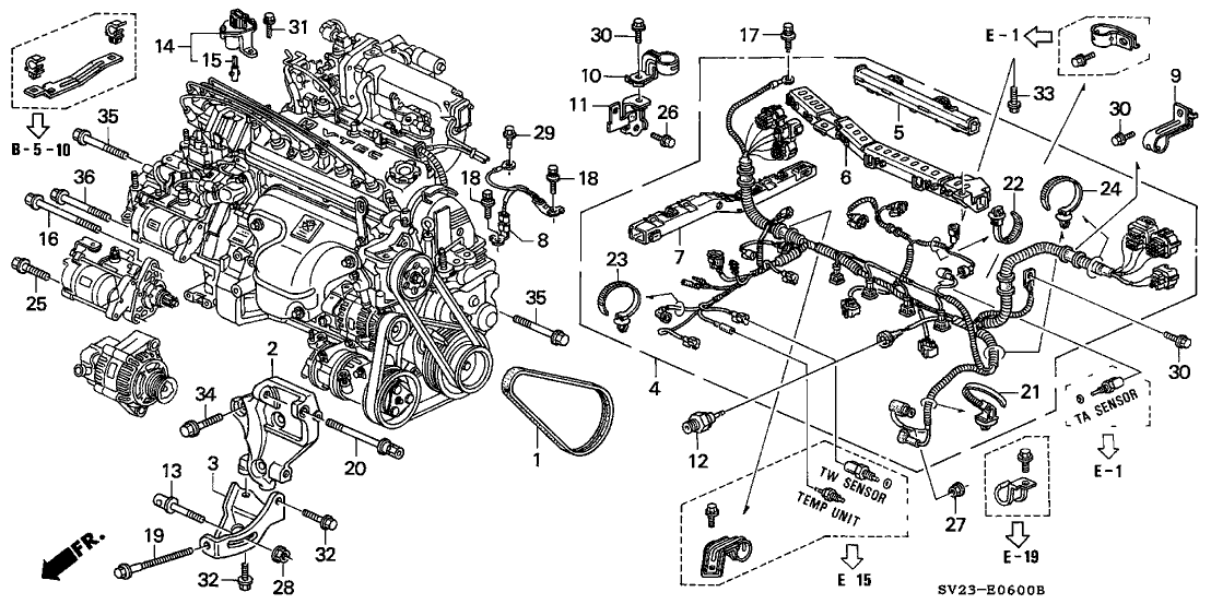 32110-P0H-L00 - Genuine Honda Wire Harness, Engine on bronco engine harness, shorted engine harness, engine wire connectors, engine swap wiring harness, engine wire kit, engine wiring harness diagram, engine wiring harness replacement, 6 0 liter engine harness, engine wire brush, engine harness pin, engine manifold, engine suspension, 89 civic lx engine harness, engine muffler, engine wire frame, engine fan, b18 swap harness, 86 ford f-150 engine harness, engine wire tuck,