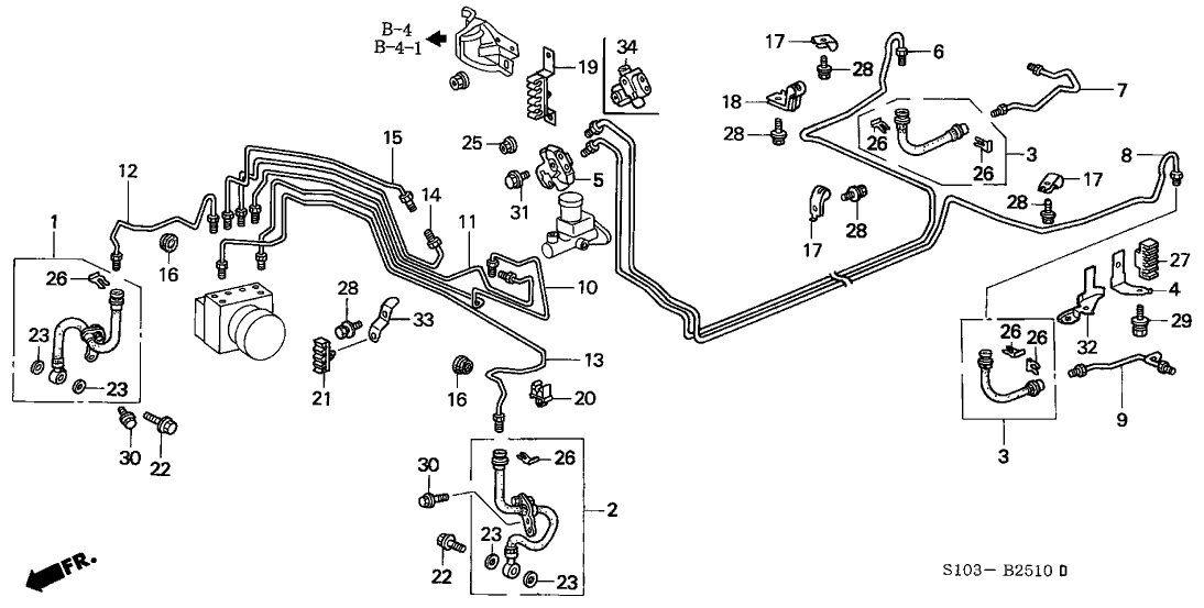 46210-S10-A52 - Genuine Honda Valve Assy., Proportioning