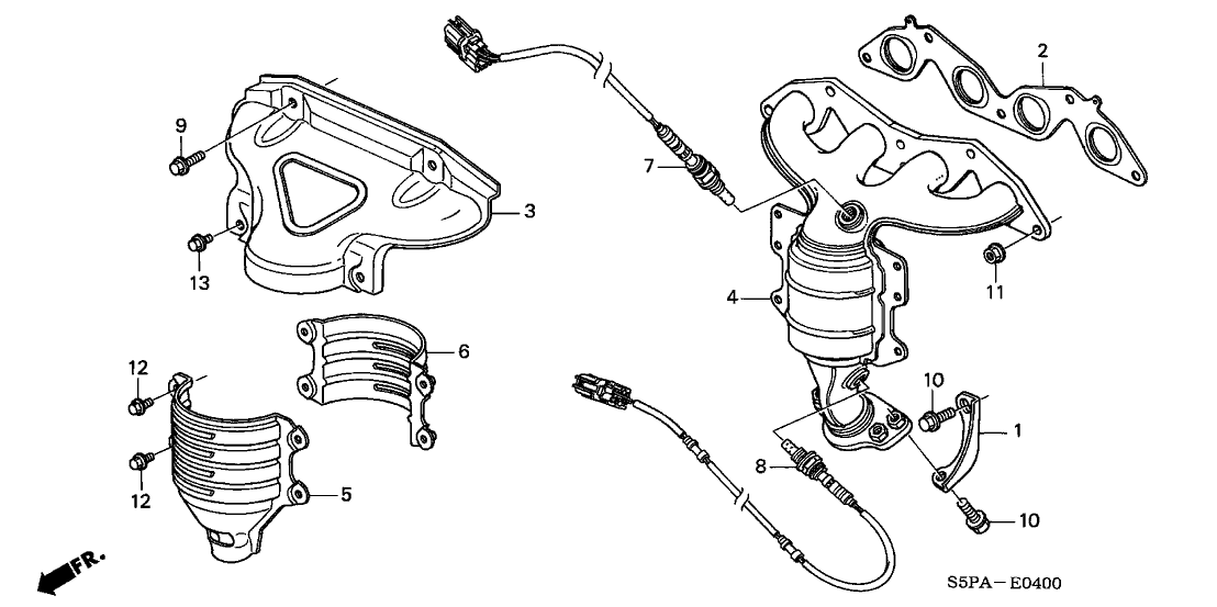 Intake Manifold Coolant Hose Diagram Furthermore Honda Civic Intake