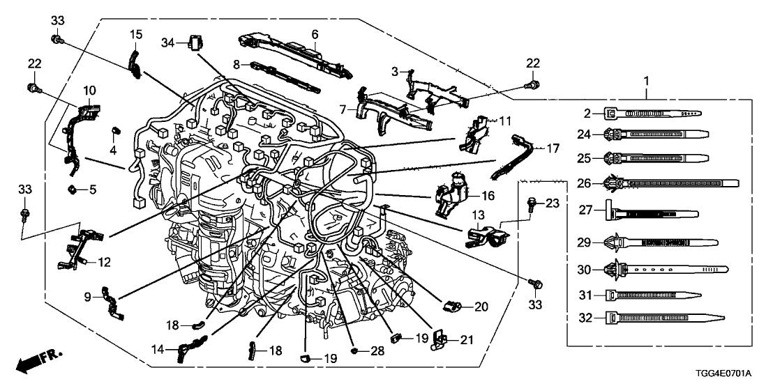Honda Civic Type R Engine Wiring Diagram