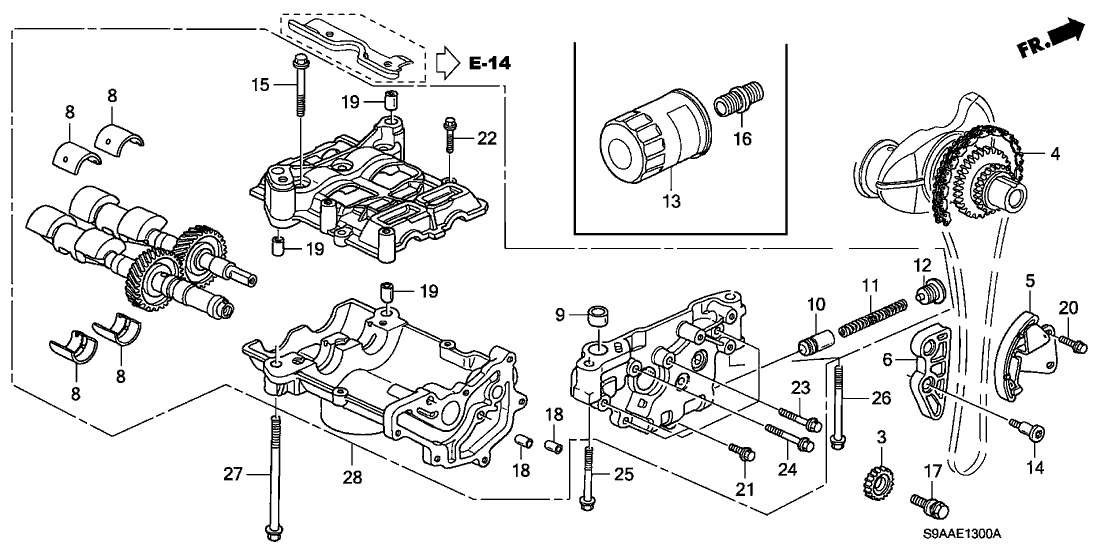 2006 Honda Cr V Engine Diagram