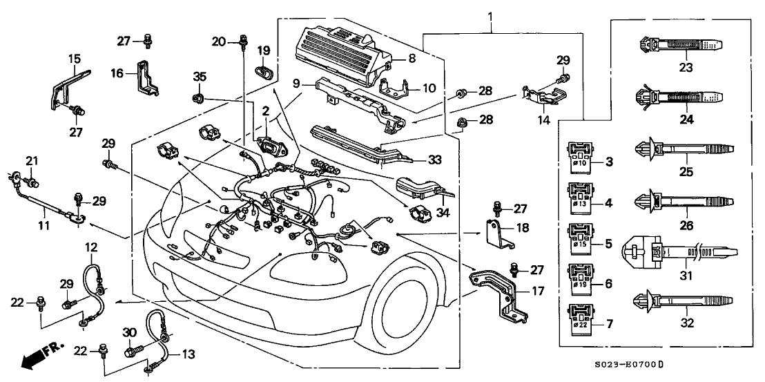honda 32110 p2r a50 Custom Honda Civic Wiring Harness