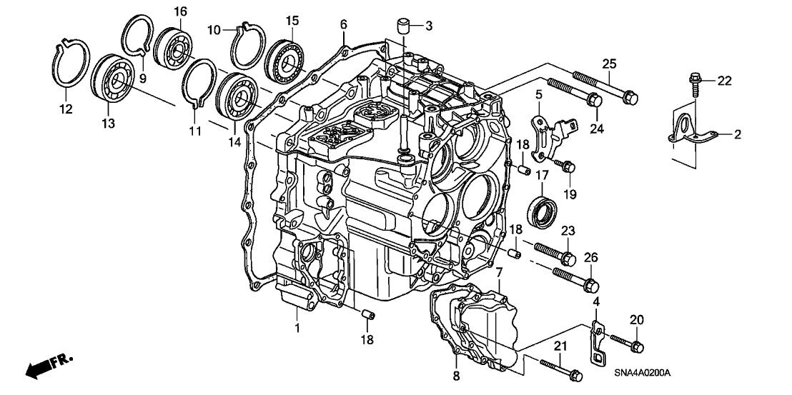 2008 Honda Civic Parts Diagram