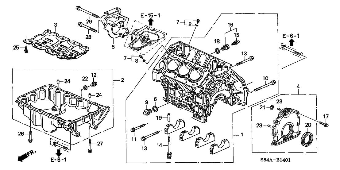 2002 honda accord ex v6 engine diagram