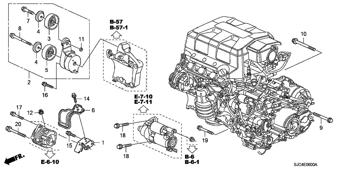 Circuit Electric For Guide: 2007 honda ridgeline engine
