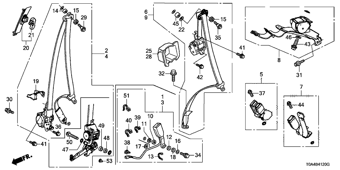 2014 Honda Crv Belt Diagram