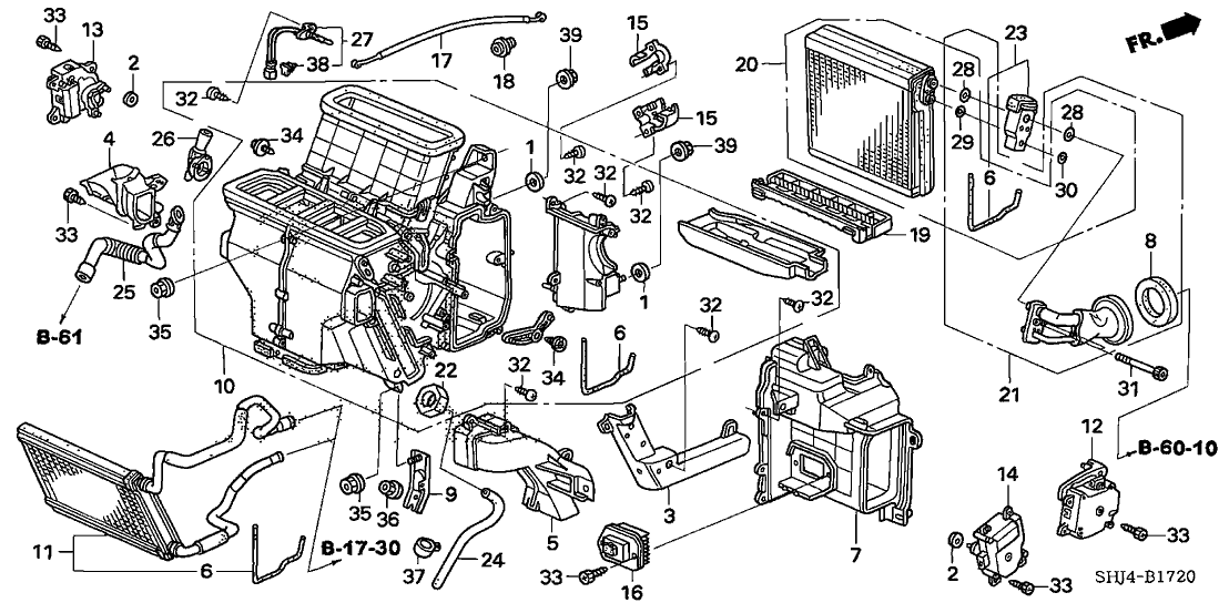 honda 79330 sdg w41 2007 Honda Odyssey Relay Diagram