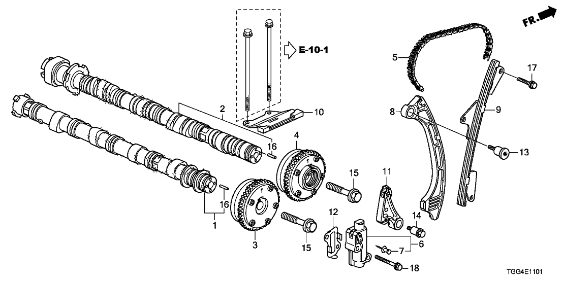 Outstanding 14110 Rpy G00 Genuine Honda Camshaft In Wiring Database Gramgelartorg