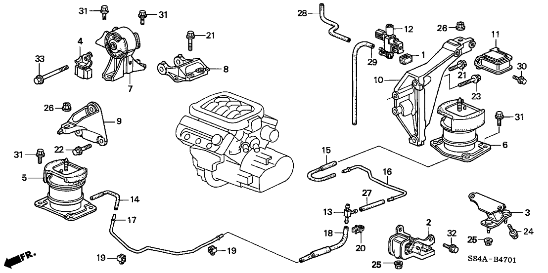 Accord Ex Engine Diagram