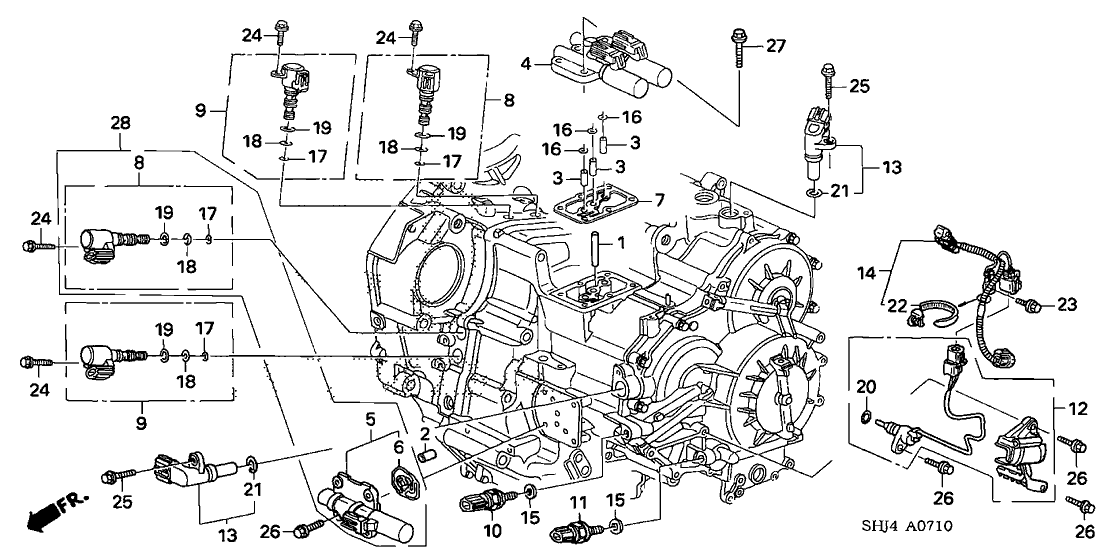 2005 Honda Odyssey Engine Parts Diagram | Reviewmotors.co