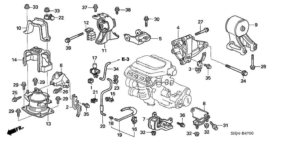 honda 50630 shj a00 2007 Honda Odyssey Relay Diagram