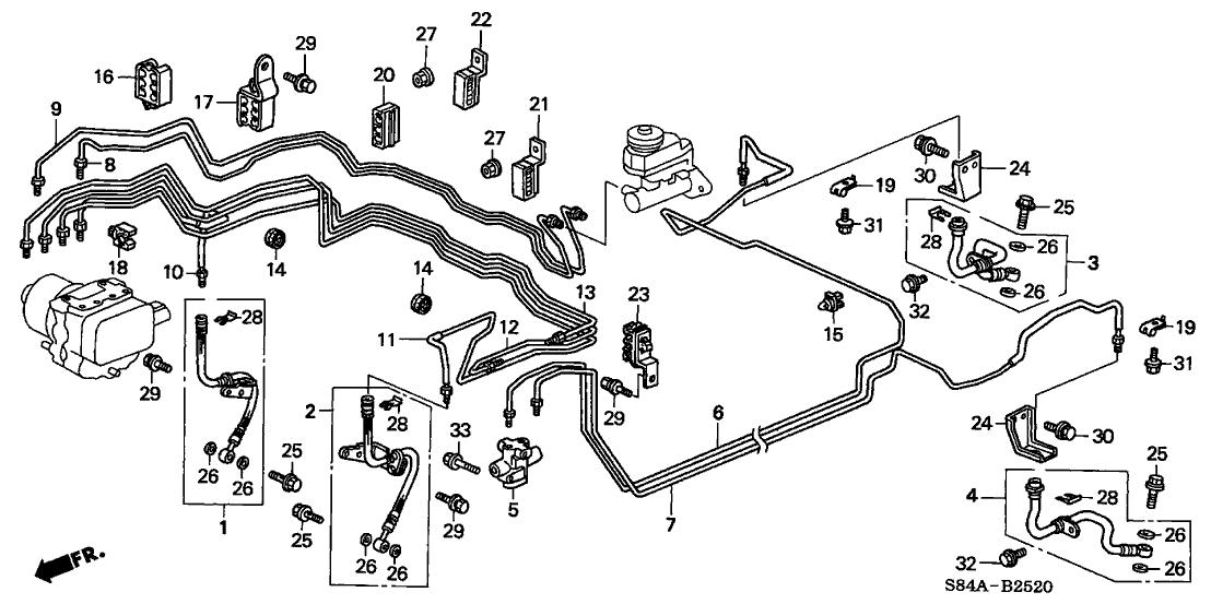 46210S10862  Genuine    Honda    Valve Assy  Proportioning