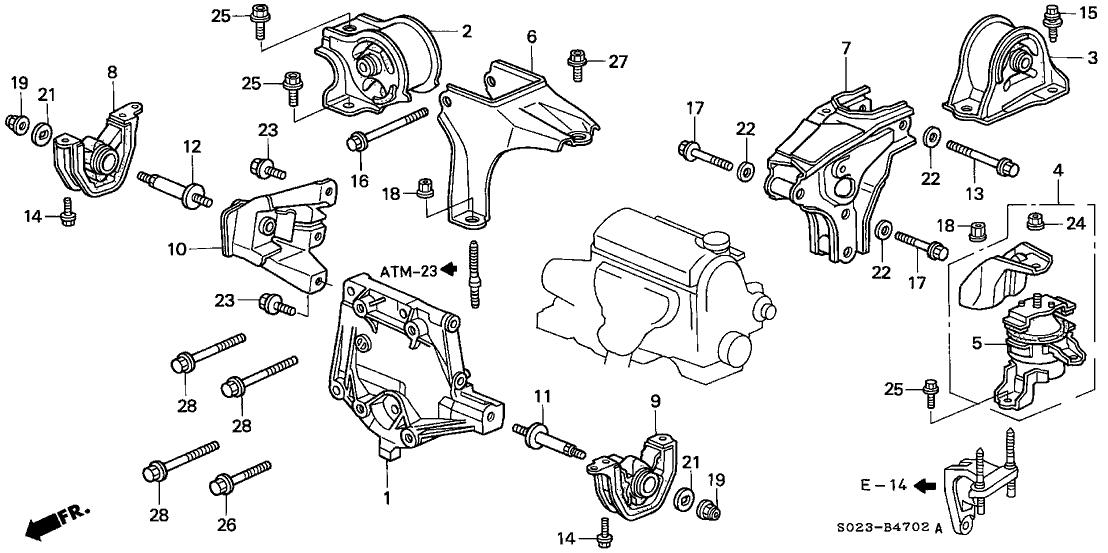 98 Honda Civic Engine Diagram - Wiring Diagram Networks