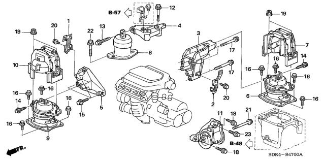 50850-SDR-A03 - Genuine Honda PartsHonda Parts