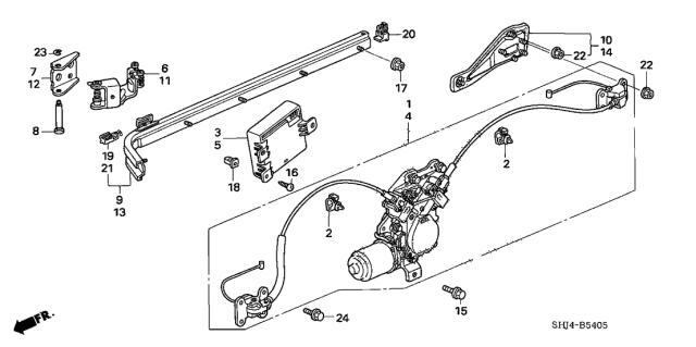 72561 Shj A21 Genuine Honda Parts
