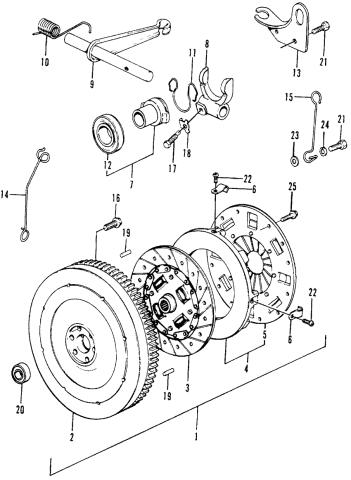 Honda 91006-634-008 Clutch Pilot Bearing