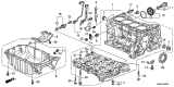 Related Parts for Honda CR-V Oil Pan - 11200-R5A-000