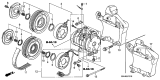 Related Parts for Honda A/C Clutch - 38900-RGM-505