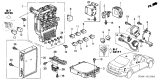Related Parts for Honda Fuse Box - 38200-SDA-A01