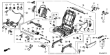 Related Parts for Honda Pilot Seat Switch - 81650-S3V-A01ZA
