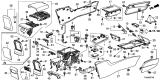 Related Parts for Honda Accord Armrest - 83450-TA5-A31ZA