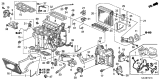 Related Parts for Honda Odyssey Evaporator - 80215-SHJ-A02