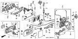 Related Parts for Honda Door Lock Cylinder - 72146-S0X-A51