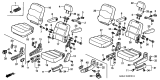 Related Parts for Honda Odyssey Cup Holder - 81350-S0X-A02ZB
