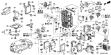 Related Parts for Honda Pilot Fuse Box - 38200-SZA-A24
