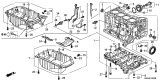 Related Parts for Honda CR-V Oil Pan - 11200-RZA-000