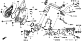 Related Parts for Honda Civic Water Pump - 19200-PNA-003