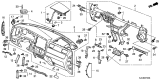 Related Parts for Honda Ridgeline Air Bag - 77820-SJC-A61ZA