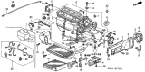 Related Parts for Honda CR-V Evaporator - 80215-S5J-M01