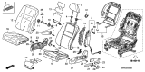 Related Parts for Honda Civic Seat Heater - 81524-SNB-E01
