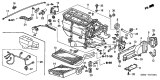 Related Parts for Honda CR-V Evaporator - 80215-S5D-G01
