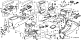 Related Parts for Honda Civic Ashtray - 88320-SV1-A00ZB