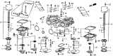 Related Parts for Honda Carburetor Needle And Seat Assembly - 16155-168-681