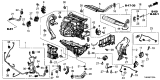 Related Parts for Honda Odyssey A/C Expansion Valve - 80221-THR-A41