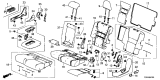 Related Parts for Honda Passport Armrest - 81780-TGS-A01ZA