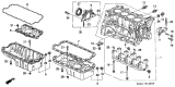 Related Parts for Honda Del Sol Knock Sensor - 30530-P2M-A01