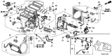 Related Parts for Honda Evaporator - 80211-TA0-A01