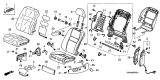 Related Parts for Honda CR-V Armrest - 81580-SXS-A21ZA