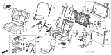 Related Parts for Honda Pilot Cup Holder - 81790-SZA-A01ZA