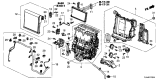 Related Parts for Honda CR-V Evaporator - 80210-TLA-A51