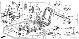 Related Parts for Honda Civic Seat Switch - 81653-SDB-A71