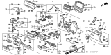 Related Parts for Honda Ashtray - 77710-SM4-003