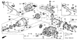Related Parts for Honda Differential - 41010-PNZ-345