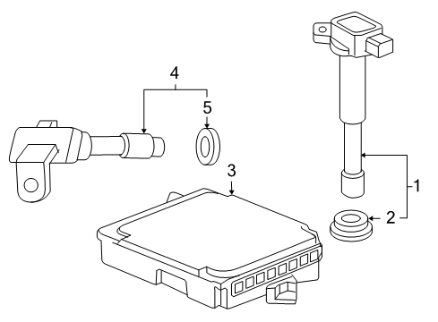 Diagram for Part No.: 37820-RAD-A57