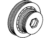 Honda Accord Crankshaft Pulley - 13810-PAA-A51