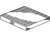 Honda Cabin Air Filter - 80292-SHJ-A41